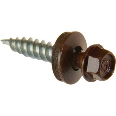 Do it #9 x 2-1/2 In. Hex Washered Brown Framing Screw (250 Ct.)