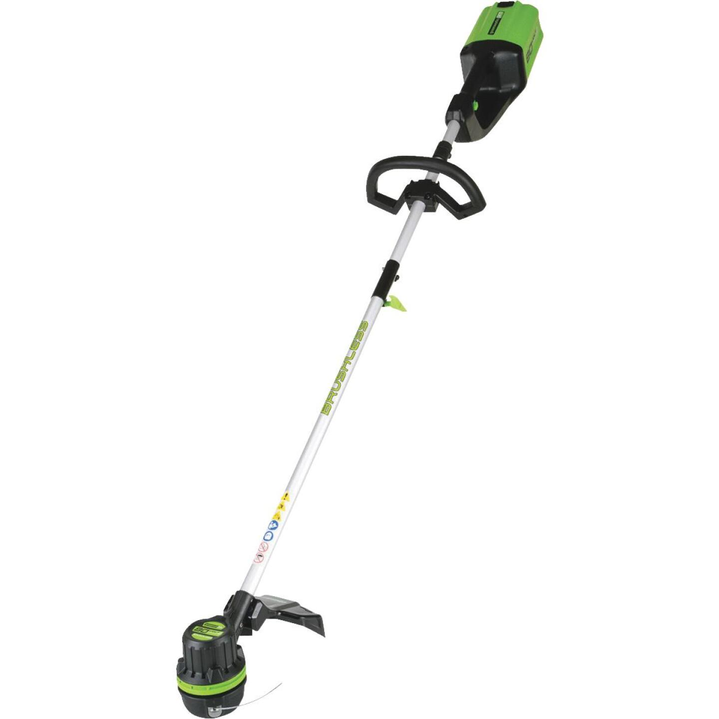 Greenworks Pro 80V 16 In. DigiPro Lithium Ion Straight Cordless String Trimmer Image 1