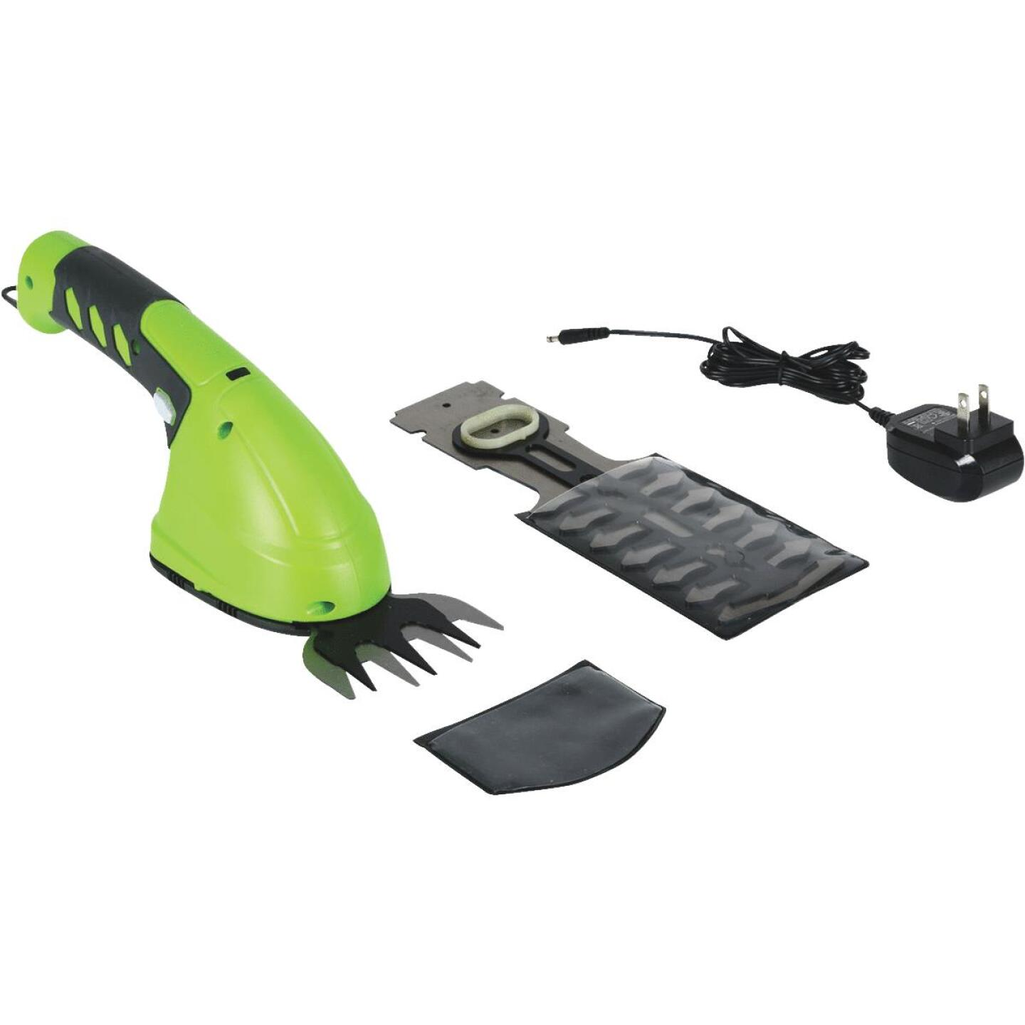 Greenworks 5 In. 7.2V Lithium Ion Cordless Grass Shear & Shrubber Image 1