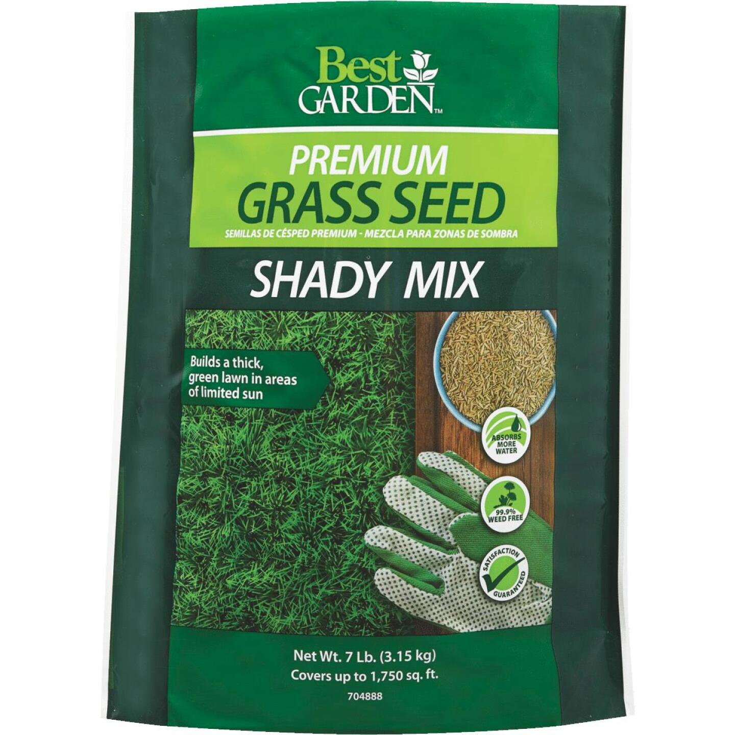 Best Garden 7 Lb. 1750 Sq. Ft. Coverage Shady Grass Seed Image 1