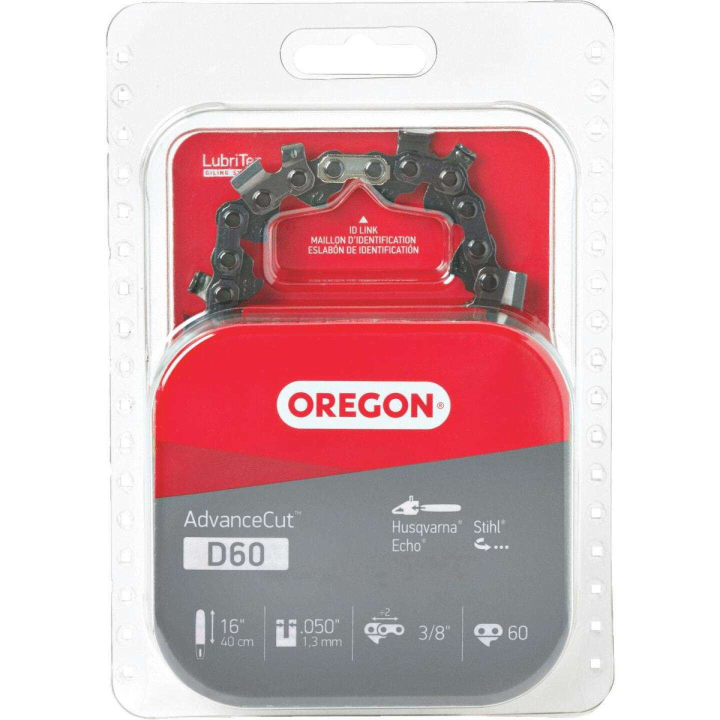 Oregon D60 16 In. Chainsaw Chain Image 1