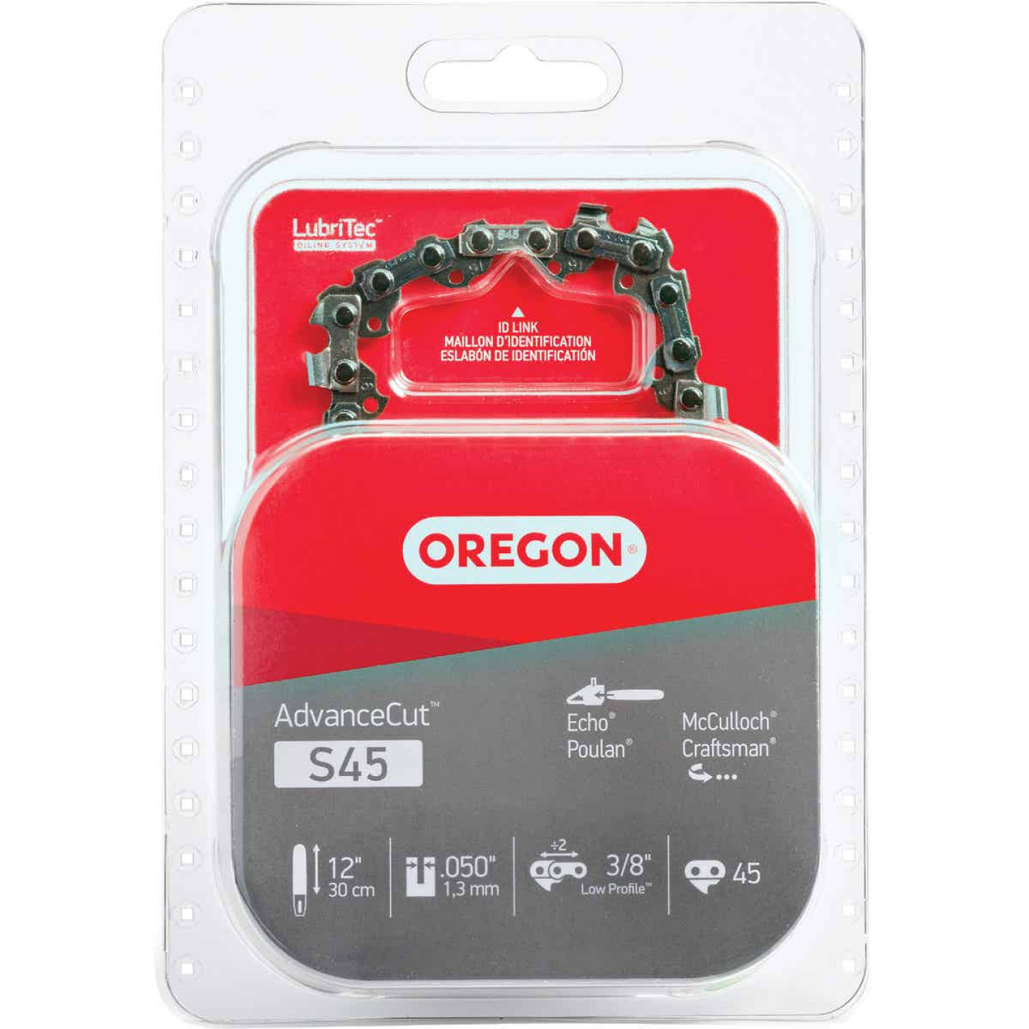 Oregon AdvanceCut S45 12 In. Chainsaw Chain Image 1