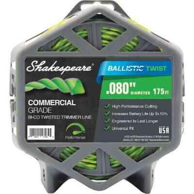 Shakespeare 0.80 In. x 175 Ft. Ballistic Twist Universal Trimmer Line