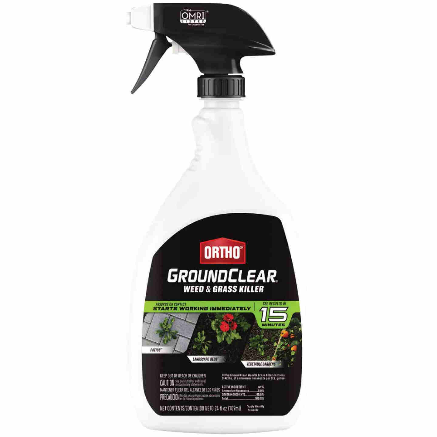 Ortho GroundClear 24 Oz. Ready To Use Trigger Spray Weed & Grass Killer Image 1