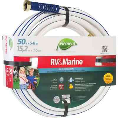 Element RV&Marine 5/8 In. Dia. x 50 Ft. L. Drinking Water Safe Hose