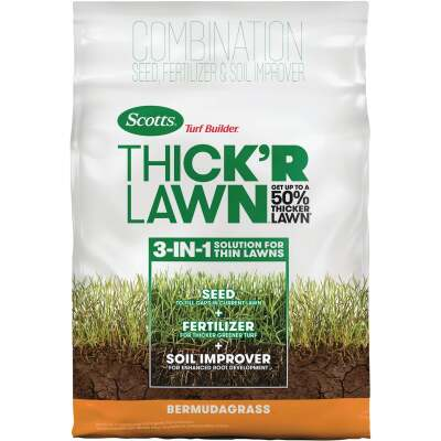 Scotts Turf Builder Thick'R Lawn 40 Lb. Bermuda Grass Patch & Repair
