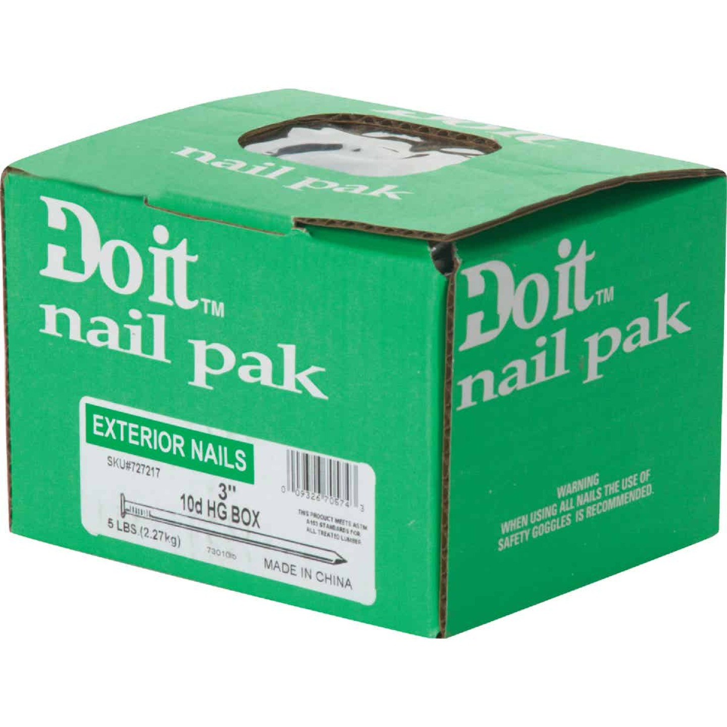 Do it 10d x 3 In. 10-1/2 ga Hot Galvanized Box Nails (470 Ct., 5 Lb.) Image 2