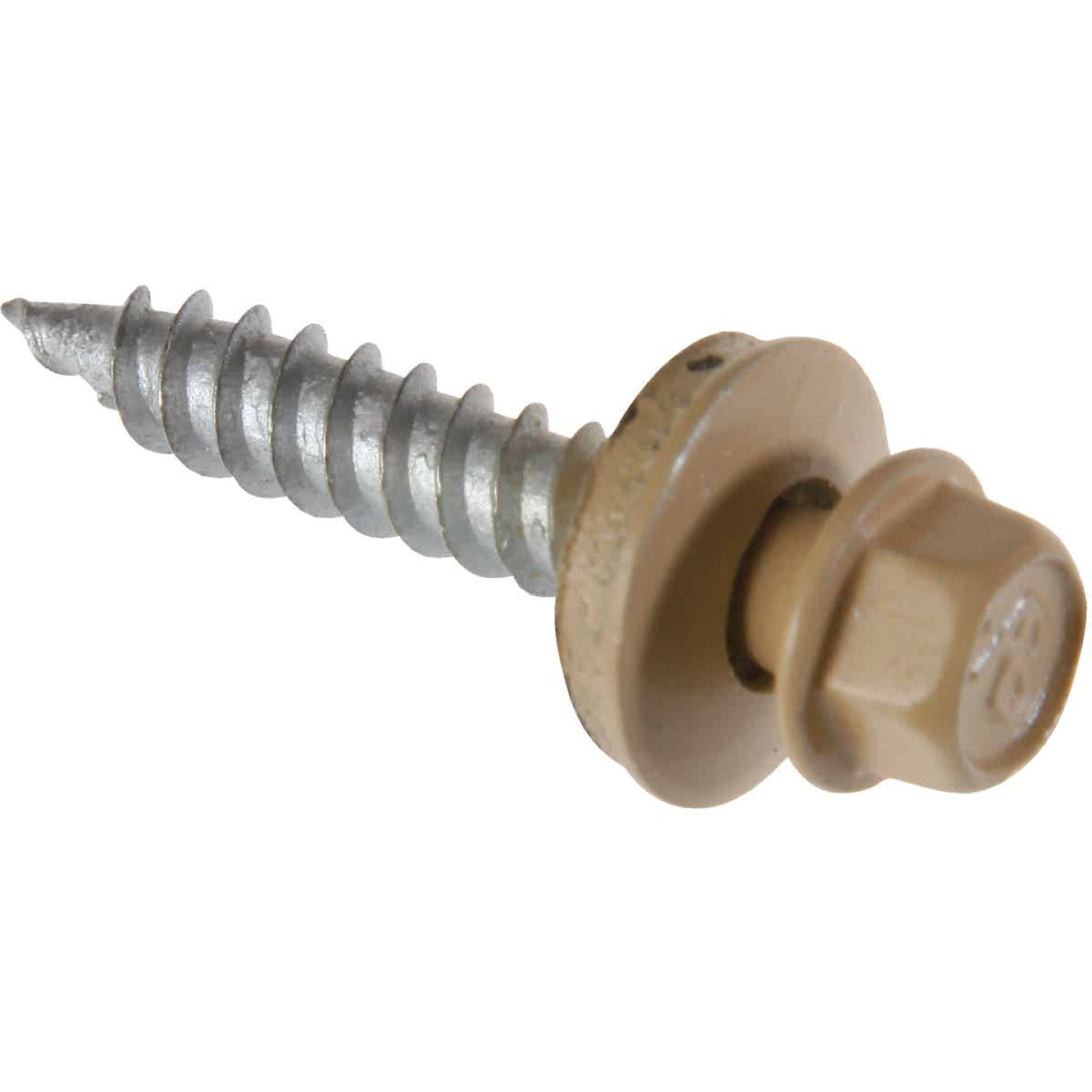 Do it #9 x 2 In. Hex Washered Tan Framing Screw (250 Ct.) Image 1