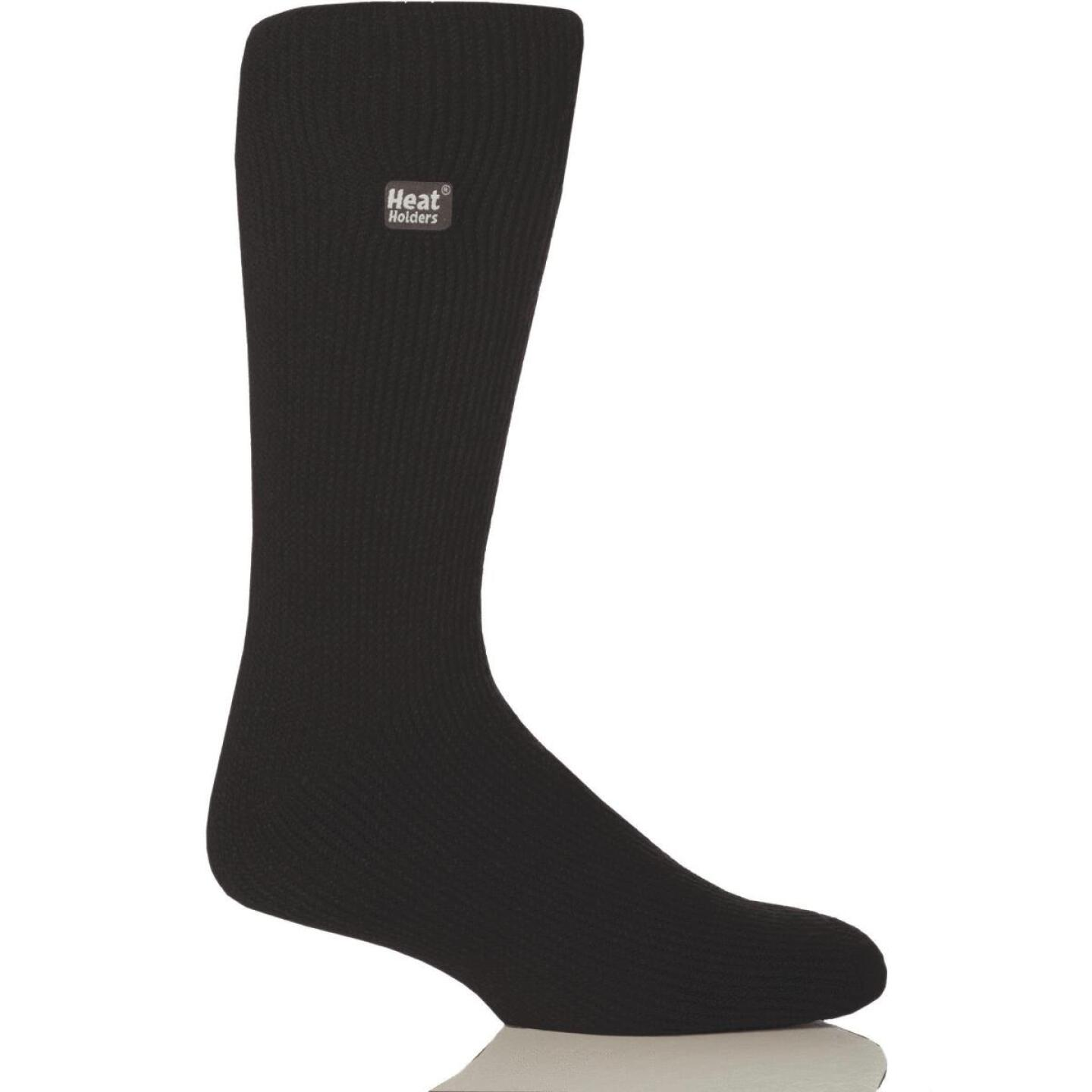 Heat Holders Men's 7 to 12 Black Thermal Sock Image 1