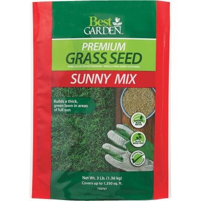 Best Garden 3 Lb. 900 Sq. Ft. Coverage Full Sun Grass Seed