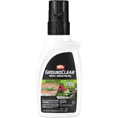 Ortho GroundClear 32 Oz. Concentrate Weed & Grass Killer
