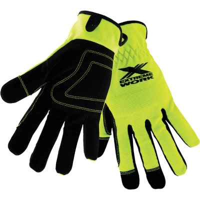 West Chester Protective Gear Extreme Work Men's Medium Synthetic Leather High Performance Glove