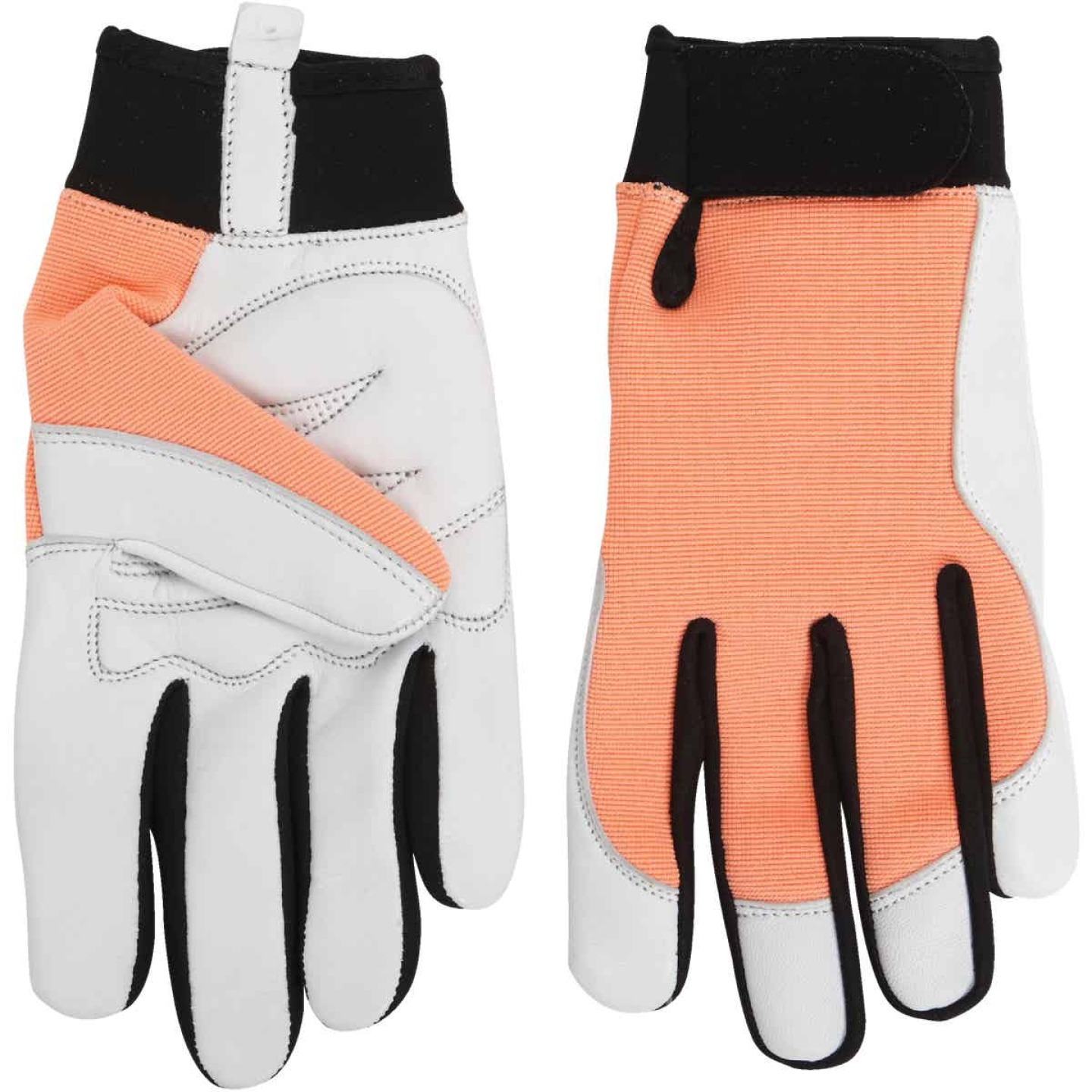 Midwest Gloves & Gear Women's Small Goatskin Leather Work Glove Image 3