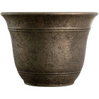 Listo Sierra 9.63 In. H. x 13 In. Dia. Nordic Bronze Poly Flower Pot Image 1