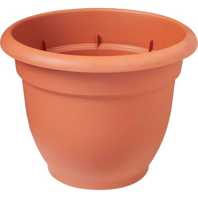 Bloem Ariana 13.75 In. H. x 16 In. Dia. Plastic Self Watering Terracotta Planter