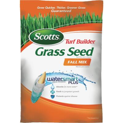 Scotts Turf Builder 15 Lb. Up To 6000 Sq. Ft. Coverage Thermal Blue KY Bluegrass Fall Mix Grass Seed