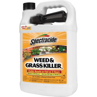 Spectracide 1 Gal. Ready To Use Trigger Spray Weed & Grass Killer