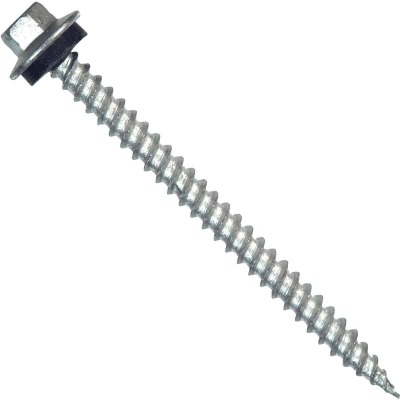 Hillman Tap-N-Seal #10 x 1 - 1/2 In. Hex Washer Head Screw (100 Ct.)