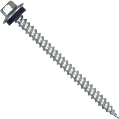 Hillman Tap-N-Seal #10 x 2 In. Hex Washer Head Screw (75 Ct.)
