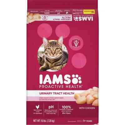 Iams Proactive Health Urinary Tract Formula 16 Lb. Chicken Flavor Adult Dry Cat Food