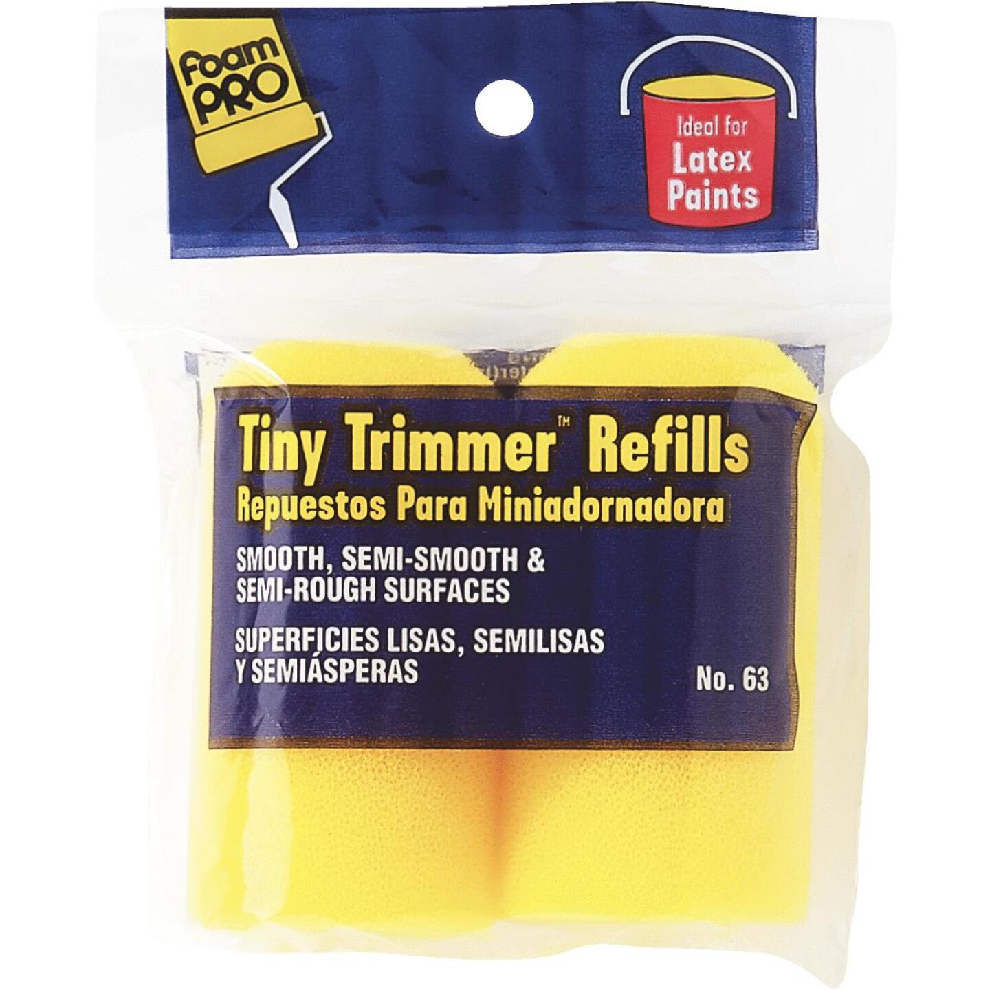 FoamPro Tiny Trimmer 2 In. Foam Roller Cover (2-Pack) Image 1