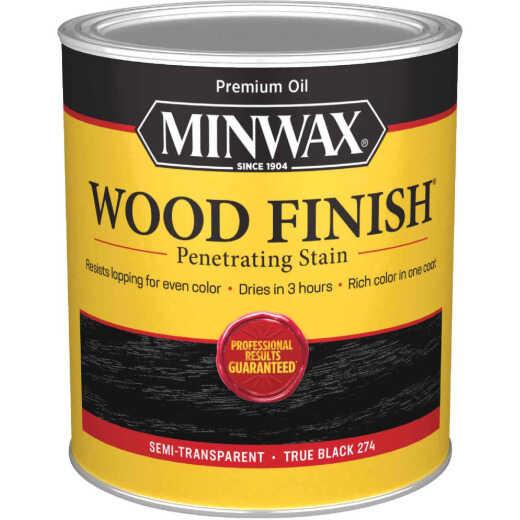 Minwax Wood Finish Penetrating Stain, True Black, 1 Qt.