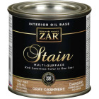 Zar 1/2 Pt. Cashmere Gray Oil-Based Multi-Surface Interior Stain Image 1