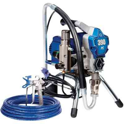 Graco 390 PC Stand Electric Airless Paint Sprayer