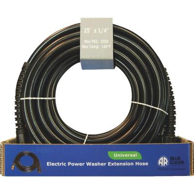 Blue Clean 1/4 In. x 25 Ft. 3000 psi Universal Pressure Washer Hose