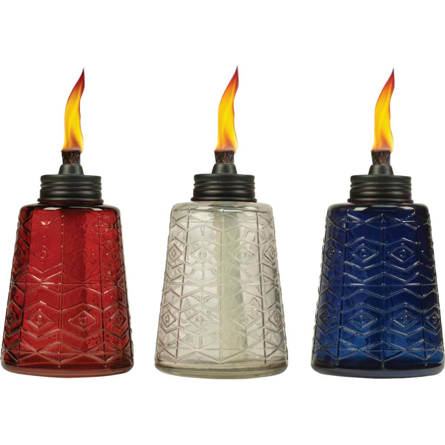 Tiki 6 In. Glass Table Torch Image 1