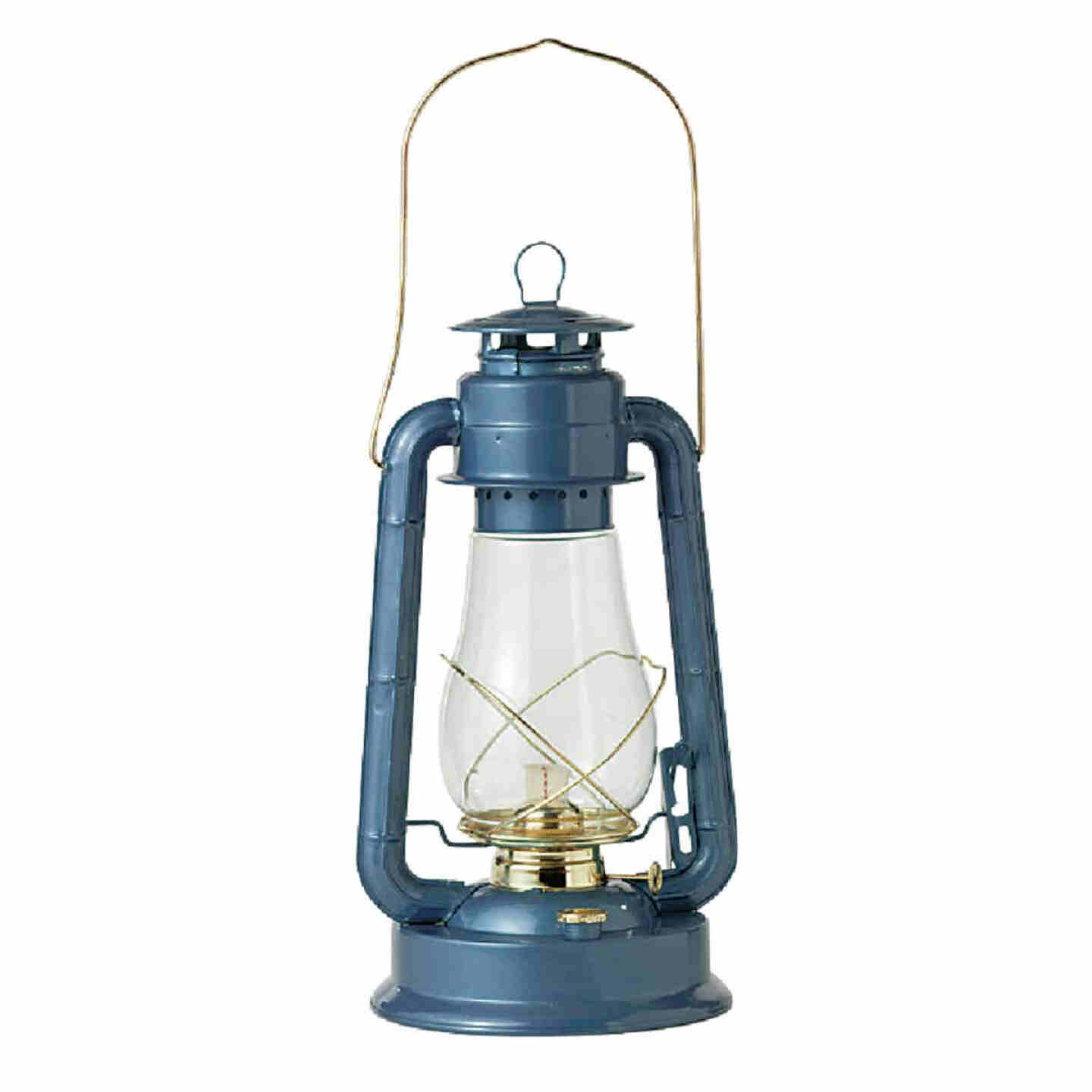 21st Century Supreme 15 In. Blue Liquid Fuel Lantern Image 1