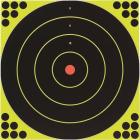 Birchwood Casey Shoot-N-C 12 In. Sighting Adhesive Paper Bulls-Eye Target Image 1