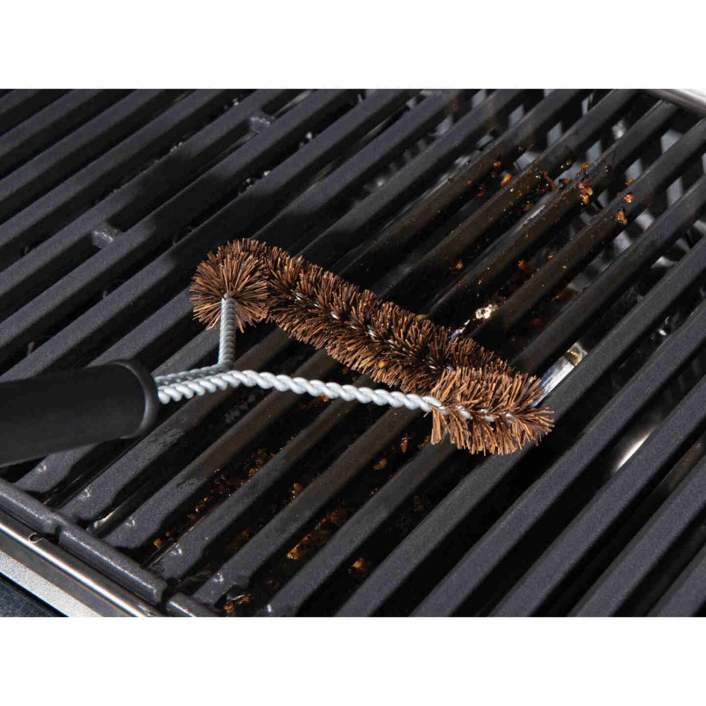 Grillpro 18 In. Extra Wide Palmyra Grill Brush Image 2