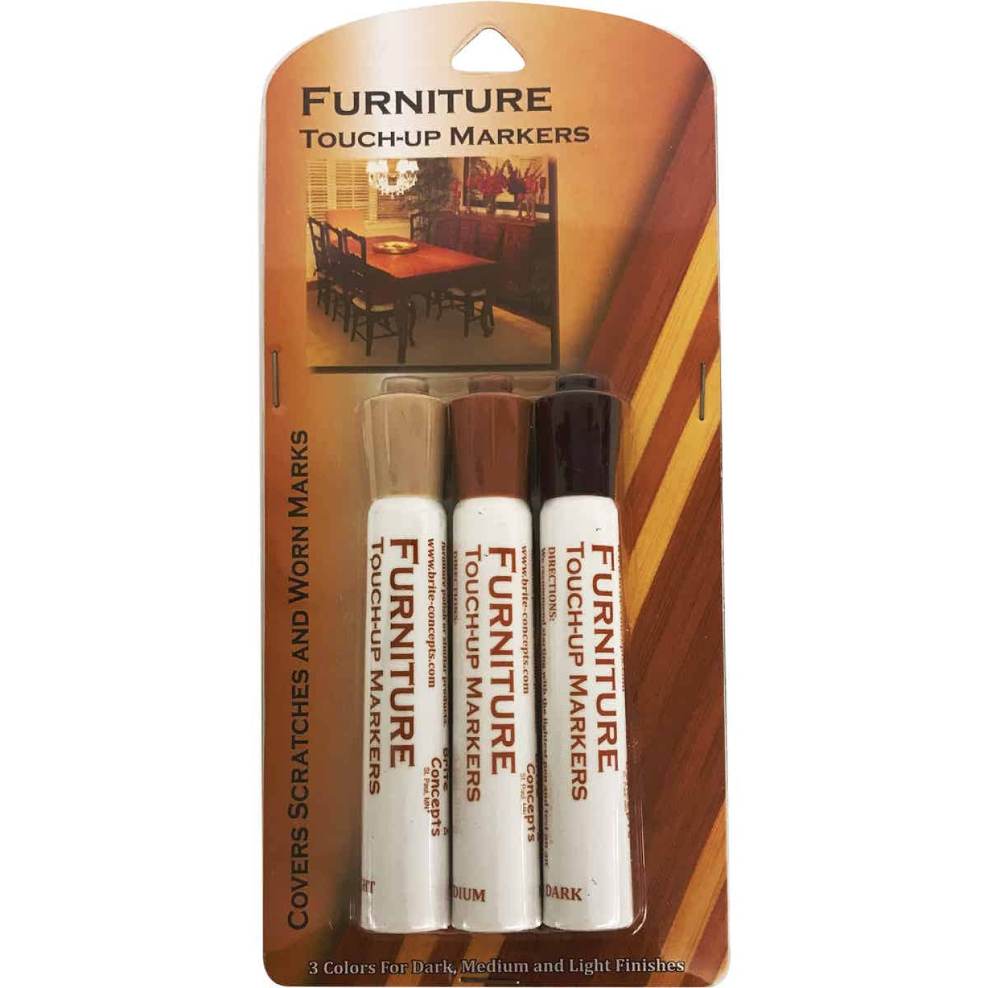 Jacent Furniture Touch-Up Marker (3-Count) Image 1